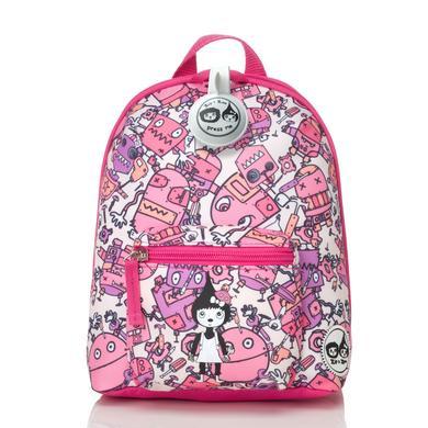 Zip & Zoe Mini Backpack Robot Pink