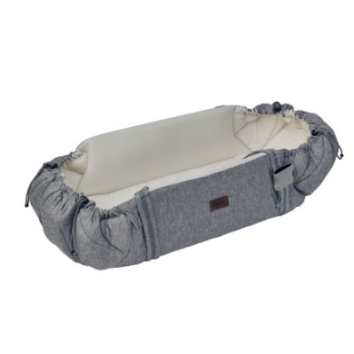 Najell Baby Přenosní taška Sleep Carrier Morning Grey - šedá