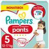 Pampers Premium Protection Pants, Gr.5, 12-17kg, Monatsbox (1 x 132Höschenwindeln)