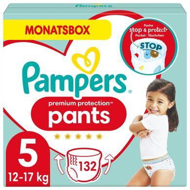 Image of Pampers Luiers Premium Protection Pants Maat 5 Maxi 132 Luiers 12 - 17 kg Maandbox