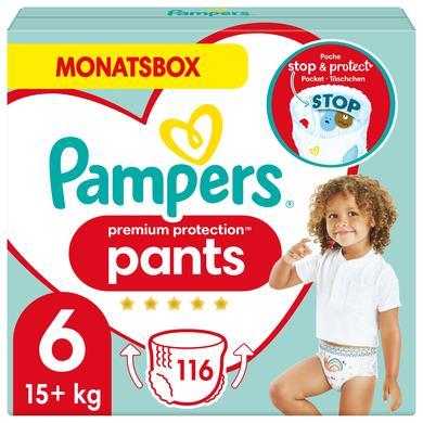 Image of Pampers Luiers Premium Protection Maat Pants 6 Extra Large 116 Luier 15+ Maandbox