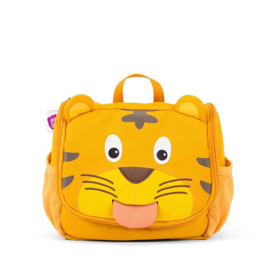 Affenzahn Trousse de toilette Timmy le tigre, jaune/brun