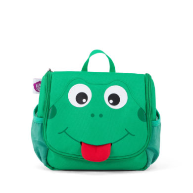 Affenzahn Washbag Finn Frog green