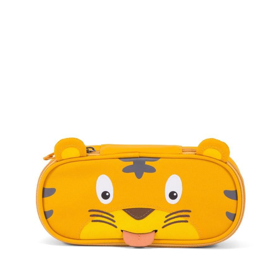 Affenzahn Trousse à stylo Timmy le tigre, jaune/brun