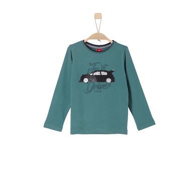 Miniboyoberteile - s.Oliver Boys Langarmshirt blue green - Onlineshop Babymarkt