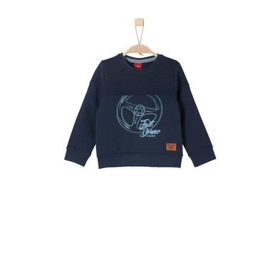 Miniboyoberteile - s.Oliver Boys Sweatshirt dark blue - Onlineshop Babymarkt