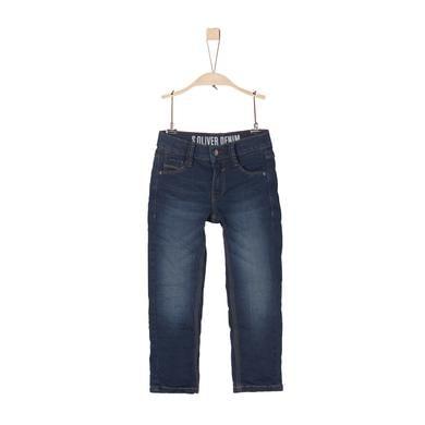 Miniboyhosen - s.Oliver Boys Hose blue denim stretch slim - Onlineshop Babymarkt