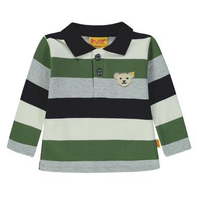 Steiff  Boys Poloshirt, gestreift - bunt - Gr.86 - Jungen
