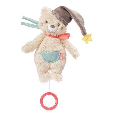 fehn ® Mini-Spieluhr Bär - beige