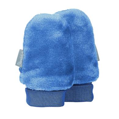 Babyaccessoires - Sterntaler Kratzfäustel Teddyflausch tintenblau - Onlineshop Babymarkt