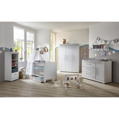Babyzimmer - arthur berndt Kinderzimmer Joris 3 türig weiß  - Onlineshop Babymarkt