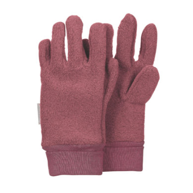 Sterntaler Girls Finger Glove Microfleece švestka