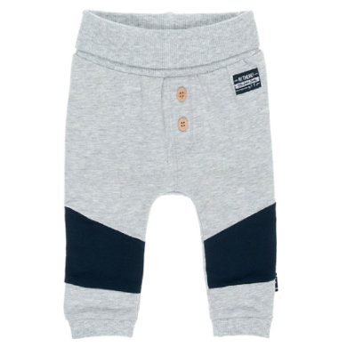 Feetje Sweathose Uni Hi There grau melange Gr.Newborn (0 6 Monate) Jungen