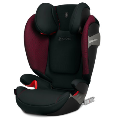 cybex Solution S-Fix Scuderia Ferrari 2019 Victory Black