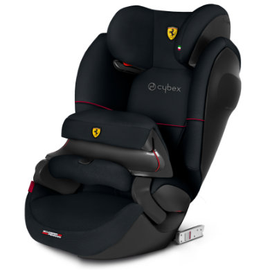 cybex SILVER Autostoel Pallas M-fix SL Scuderia Ferrari Victory Black Zwart