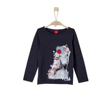 Minigirloberteile - s.Oliver Girls Langarmshirt dark blue - Onlineshop Babymarkt