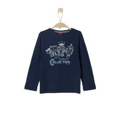 Miniboyoberteile - s.Oliver Boys Langarmshirt dark blue - Onlineshop Babymarkt