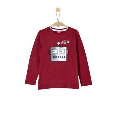 Miniboyoberteile - s.Oliver Boys Langarmshirt red - Onlineshop Babymarkt