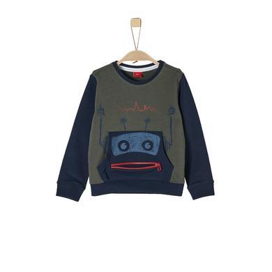 Miniboyoberteile - s.Oliver Boys Sweatshirt dark green - Onlineshop Babymarkt