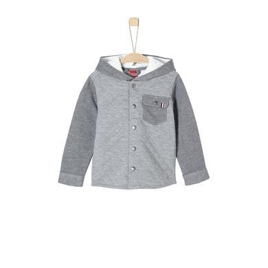 s.Oliver Boys Sweatjacke grey melange grau Gr.Kindermode (2 6 Jahre) Jungen