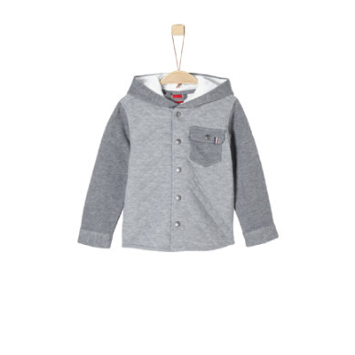 Miniboyjacken - s.Oliver Boys Sweatjacke grey melange - Onlineshop Babymarkt