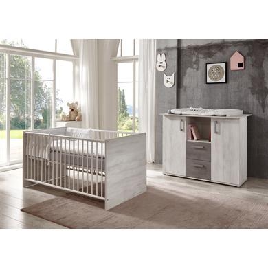 Babyzimmer - arthur berndt Sparset Insa weiß  - Onlineshop Babymarkt