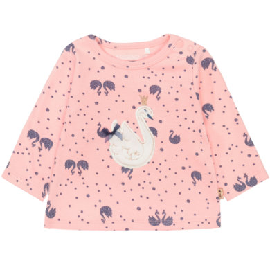 Staccato Girls Langarmshirt Alloverprint rosa Gr.Newborn (0 6 Monate) Mädchen