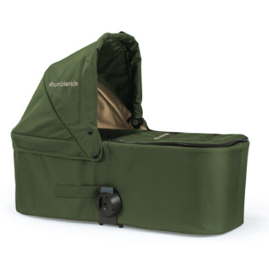 Bumbleride Carrycot Indie Twin Camp Green - zelená