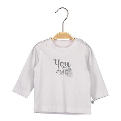 Babyoberteile - BLUE SEVEN Girls Langarmshirt weiß - Onlineshop Babymarkt