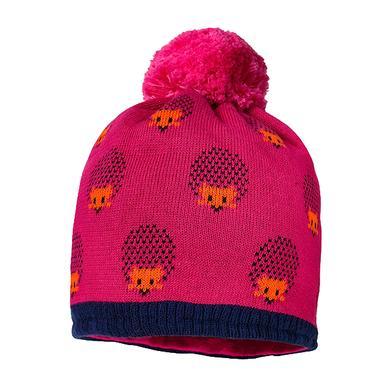 Minigirlaccessoires - maximo Girls Mütze Igel dark pink–tinte - Onlineshop Babymarkt