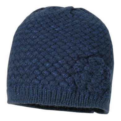maximo Girls Crocheted cap navy