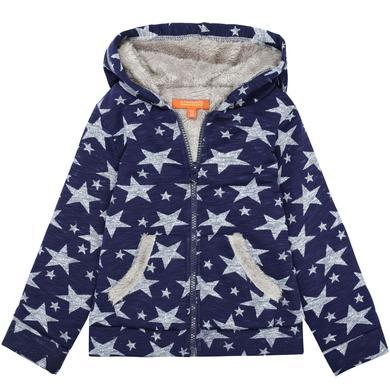 Minigirljacken - STACCATO Girls Sweatjacke marine Sterne - Onlineshop Babymarkt