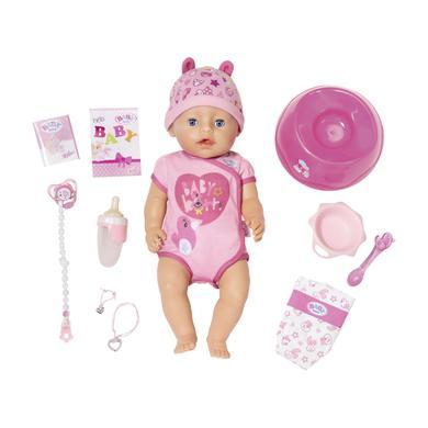 Zapf Creation Baby Born Soft touch - holčička - růžová/pink