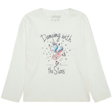 Minigirloberteile - STACCATO Girls Langarmshirt offwhite - Onlineshop Babymarkt