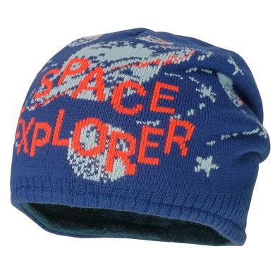 maximo Boys Beanie Space Explorer tinte blau Gr.Kindermode (2 6 Jahre) Jungen