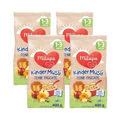 Milupa Kindermüsli Früchte 4 x 400 g ab dem 1. Jahr
