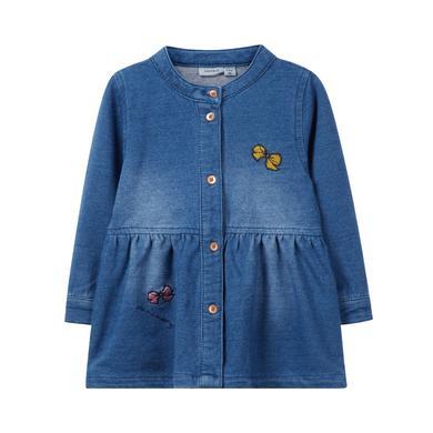 Minigirlroeckekleider - name it Girls Kleid Fabarbel, medium blue denim - Onlineshop Babymarkt