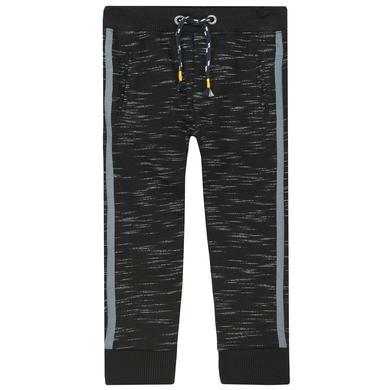 Miniboyhosen - STACCATO Boys Jogginghose black structure - Onlineshop Babymarkt