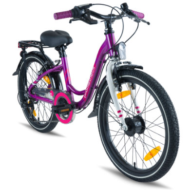Prometheus Bicycles ® PURPLE HAWK Kinderfahrrad 20 in Lila Schwarz ab 7 Jahre lila