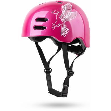 Fürfahrräder - PROMETHEUS BICYCLES® Fahrradhelm Gr. S 53 55 cm, rosa weiß - Onlineshop