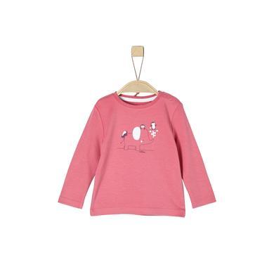 s.Oliver Langarmshirt pink rosa pink Gr.Newborn (0 6 Monate) Mädchen