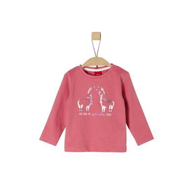 s.Oliver Girls Langarmshirt pink rosa pink Gr.Babymode (6 24 Monate) Mädchen