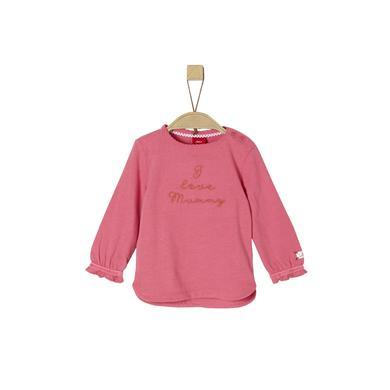s.Oliver Girls Langarmshirt deeppink rosa pink Gr.Babymode (6 24 Monate) Mädchen