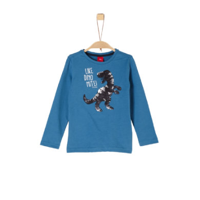 Miniboyoberteile - s.Oliver Boys Langarmshirt blau - Onlineshop Babymarkt