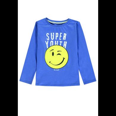 Miniboyoberteile - TOM TAILOR Boys Langarmshirt, rauchblau - Onlineshop Babymarkt