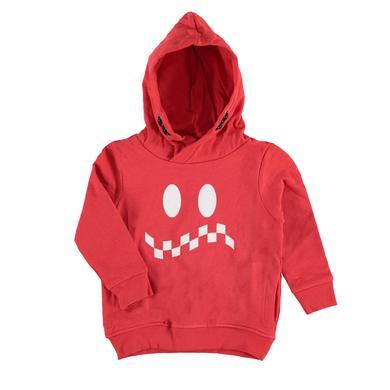 Miniboyoberteile - TOM TAILOR Boys Sweatshirt mit Kapuze, rot - Onlineshop Babymarkt