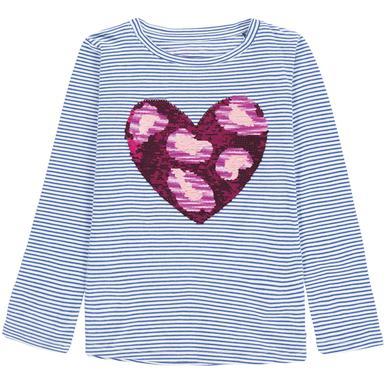 Tom Tailor Girls Langarmshirt blau Gr.Kindermode (2 6 Jahre) Mädchen