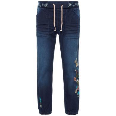 Minigirlhosen - name it Girls Jeans Nmfbibi dark blue denim - Onlineshop Babymarkt