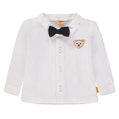 Steiff  Boys Hemd, weiß - Gr.Babymode (6 - 24 Monate) - Jungen