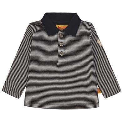 Steiff  Boys Poloshirt, gestreift - blau - Gr.92 - Jungen